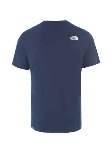 The North Face Never Stop Exploring Erkek T-Shirt Mavi Mavi